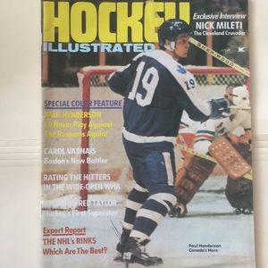 Other - Vintage Hockey Illustrated Magazine 1973